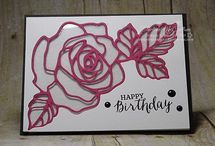 Stampin' Up Rose Wonder