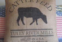 feed sacks