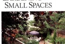 Gardens in small spaces
