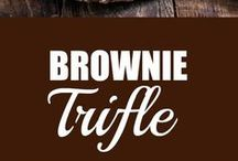 Brownie Trifle the