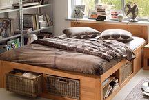 lits 2 personnes multi rangements