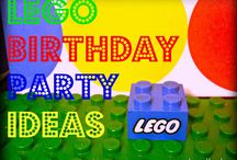 lego party / by CraftyHourMom