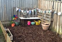 The Orchard: Outdoor Play: Shabby Chic Vintage / Children's play areas in your own garden