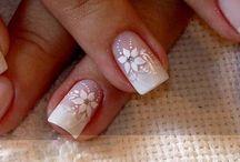 decoración uñas matrimonio