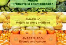 Alimentación en colores