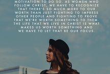 Women faith