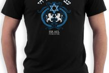 Israel t-shirts / Whether you are looking for a pro-Israel T-shirt to support Israel or just want a cheerful Israel T that will clearly express your current mood, we have a complete selection of designs - all available in a wide array of fashionable styles and vibrant colors that will provide you with the perfect Israel T-shirt for every occasion. HERE ARE SOME OF OUR FAVORITES!!!