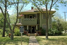Joiner-Long Home Cleburne TX / 1895 Transitional Queen Anne / by Leona Eunice Gentry