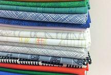 Great bundle of Carolyn Friedlander and Kona solids at Studio 39 Fabrics in Canada