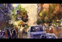 WATERCOLOUR PAINTING DEMO