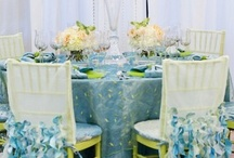 Table Design - Linens & Chairs / by Tori - Platinum Elegance Weddings & Events