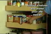 Pull Out Shelves / A great money saving idea to add more storage room without the cost of buying new cabinets.  http://www.toledo-window-treatments-windows-blinds-coverings-drapery.com / by Window Treatments