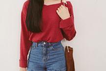 outfits con rojo