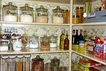 pantries/laundry rooms / by Melissa Angelone