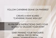 Catherine Deane wedding / Beautiful wedding dresses and more