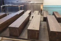 """"""" work in progress  -oak tables """" by mob expres"""