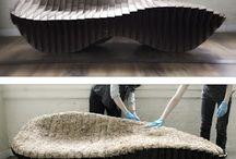 Mycelium interior design