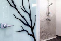 Kylpyhuone / Toteutuneita kylpyhuonesuunnitelmia sekä inspiskuvia suunnitteluun