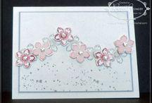 Cards - SU flowers