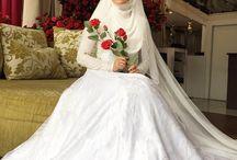bride Hijab