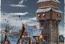 Fantasy Wargaming Scenery