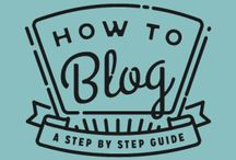 Blogging / All about blogging / by Amanda Johnson