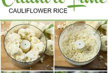 cauliflower and veg