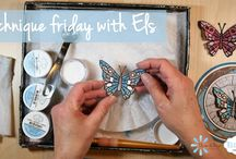 Technique Friday with Els / Join Els van de Burgt EVERY week for her video series: Technique Friday with Els. Don't miss out on any of Els's craft secrets by subscribing to the Elizabeth Craft Designs YouTube channel: www.youtube.com/c/Elizabethcraftdesigns?sub_confirmation=1 / by Elizabeth Craft Designs