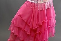 Belly dance skirts and pants