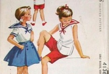 Vintage children's patterns and pictures