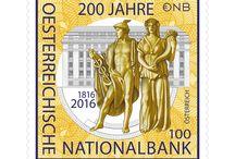 Austria 2016 Stamps / Austrian Post 2016 Stamp Issue