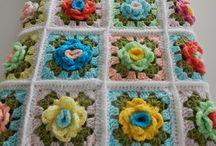 Crochet - Rose Grannies / One day I'll make one...
