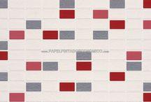 Papel Pintado para Baños / ¡¡¡Ideas para decorar baños con papel pintado para paredes!!! Una selección de revestimientos para baños ideales, con motivos originales y con una calidad insuperable. Un producto vinílico y superlavable que aguanta toda la actividad propia de un cuarto de baño.