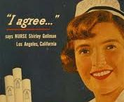 Vintage ads / Odd ads for products which are claimed to be healthy and useful