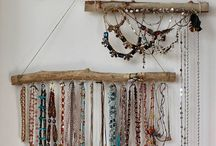 Jewellery Hanging ideas