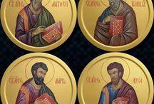 Iconografie - Sfinții Evangheliști