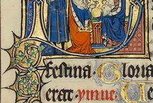 Imágenes de manuscritos iluminados
