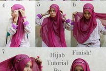 hijabs.... / by Jamilla Anne