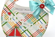 BIB SHAPED CARD AND INVITE - THE CUTTING CAFE