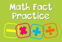 Math Fact Practice / Math fact practice ideas