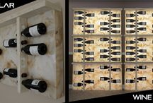 Wine Rack / Wine Rack ideas, inspiration and completed projects. Illuminated Wine Racks Mostly.