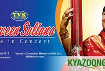 KyaZoonga.com: Buy online tickets for Parween Sultana Live in Concert