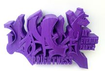 Brightness stickers / Brightness2000 street art & graffiti