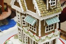 Gingerbread houses / Beautiful, crafty, and crazy houses made of gingerbread