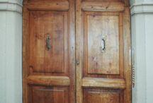 Porte, portoni, portali / Restauro e manutenzione di porte e portoni