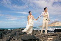 Hawaii Same Sex Weddings / Photographs of Same Sex Weddings in Hawaii. Gay Weddings, Lesbian Weddings LGBT Weddings in Hawaii