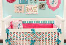 Nursery for baby #3 / Bambino room / by Amanda Sparkes