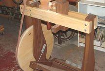 Wood lathes