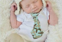Newborn boy hat / by Niki Faris