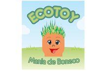 Ecotoy-Mania de Boneco / Bonecos artesanais e ecológicos. Lembranças para festas e aniversários e brindes para empresa e eventos ecológicos.